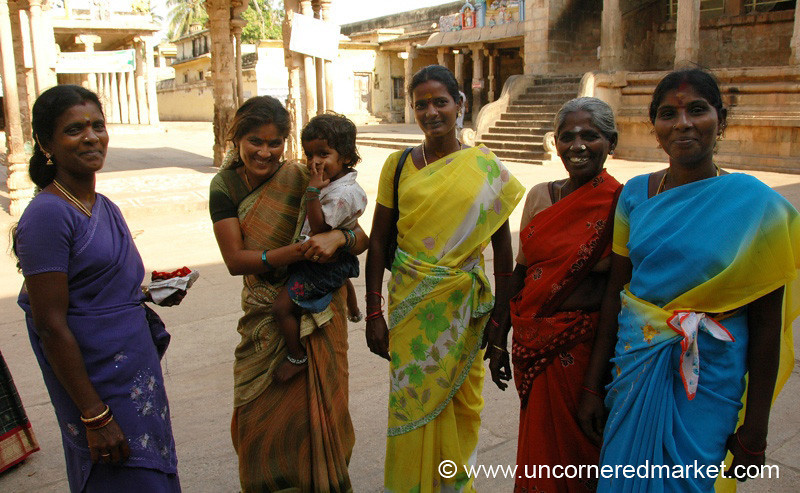 Women and Trichy Temple
