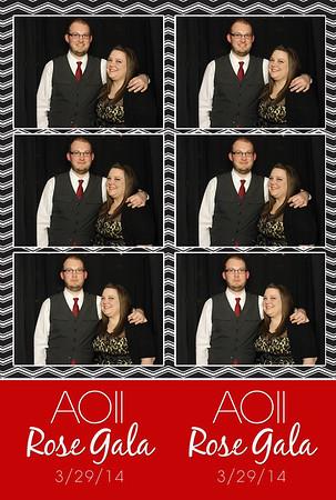 AOII Rose Gala! 3.29.2014