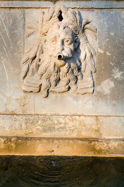 Detail from Charles V fountain, Alhambra, Granada, Spain