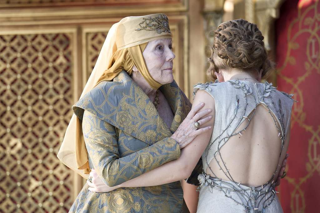 . Diana Rigg and Natalie Dormer\\ (Photo by Macall B. Polay/HBO)