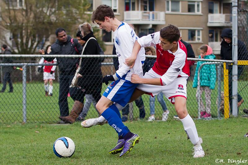 05-12-2015: Voetbal: Alexandria '66 B2-BVCB B1