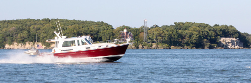 Rounding South Bass Island and back to Vermilion