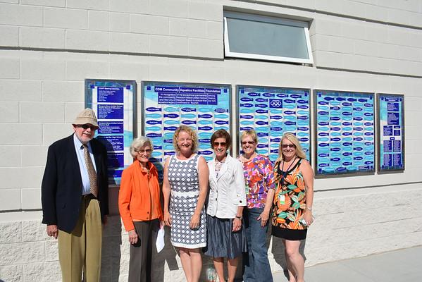 Corona del Mar High School Marian Bergeson Aquatic Center Unveiling