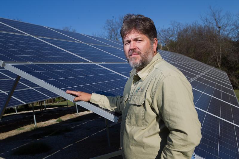 Steve Wilke, co-owner of Delta Energy and Design.