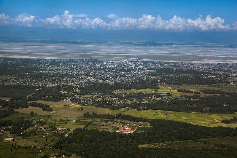 Ariel View of Brahamaputra