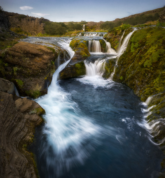 Gjáin valley landscape photography Iceland gorge waterfall highlands.jpg