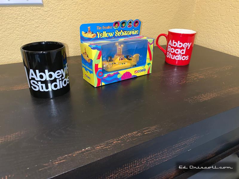 Abbey Road Mugs and Corgi Yellow Submarine 10-23-20