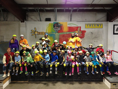 Talent Skatepark 4th grade PE fieldtrip