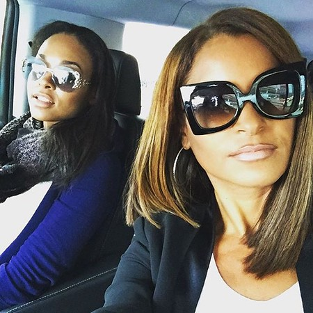 Demetria McKinney and Claudia Jordan Takes NYC! - Fashion Week - September 2015