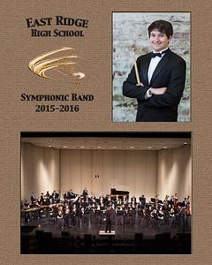 East Ridge HS Band (2015)