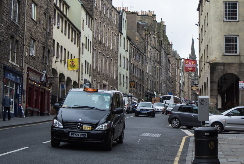 Monday, June 11 - East end of Royal Mile