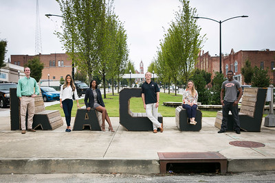 2018 Law Students in Downtown Macon