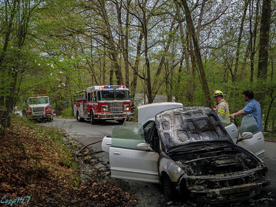 Car Fire, Jack Road  5-10-14