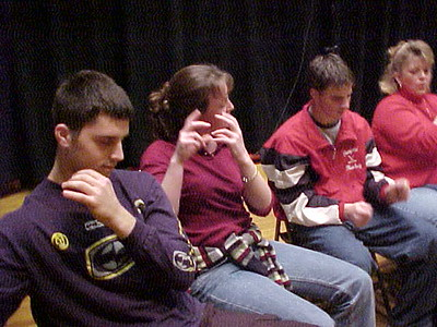 Sanford High School... November 17, 2001