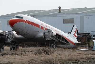 CF-JWP Douglas DC3
