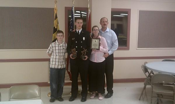 Forrest Tech Center Fire Rescue Class 4 Awards