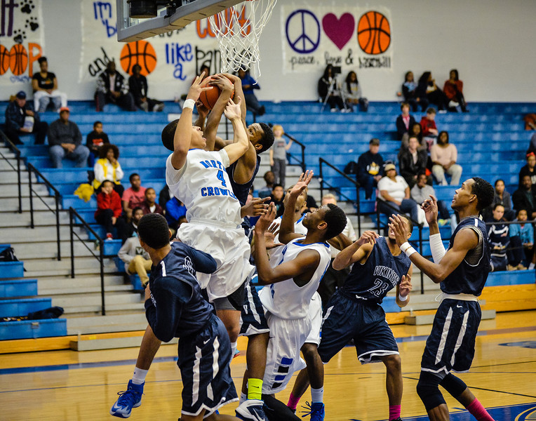 Basketball Boys Varsity vs  Lamar 01-21-14-11