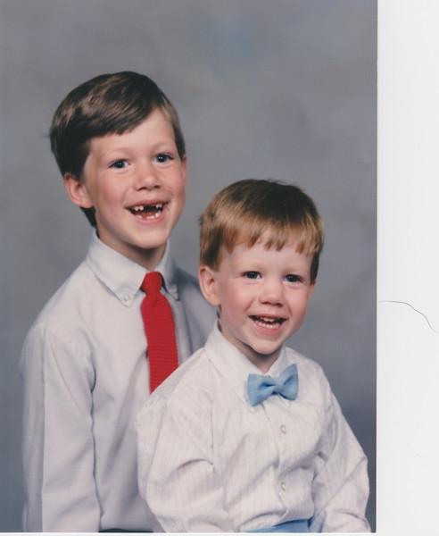 Matt and Jeff - 1992