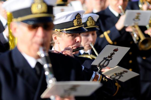 Revelj med Marinens Musikkår Karlskrona 2013