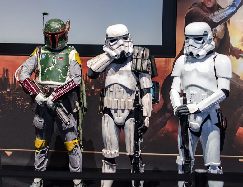 Bobba Fett and Stormtroopers @ Gamescom 2012