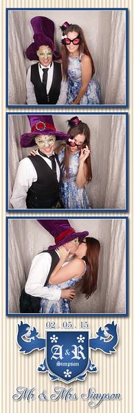 Rhiannon & Adam's Wedding Photostrips