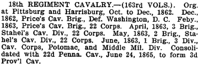 Pennsylvania - 18th Cavalry.png