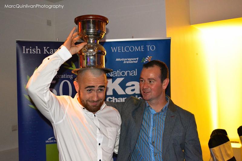 Motorsport Ireland Karting Championship 2013 - Awards Presentation