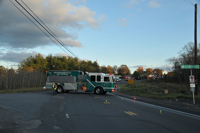 FOSTER TOWNSHIP ROUTE 901 TRACTOR TRAILER ACCIDENT 10-27-2013 PICTURES BY COALREGIONFIRE