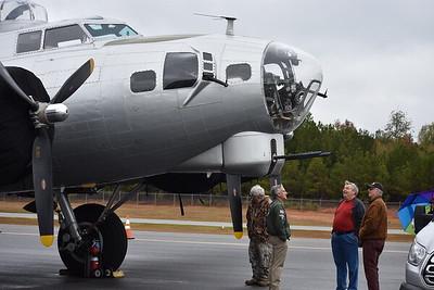 B-17 at Baldwin County Regional Airport