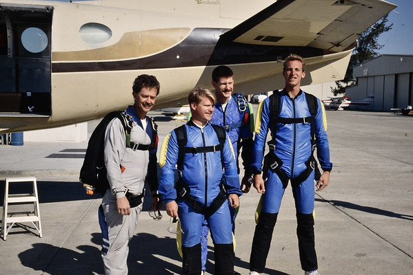 NORM & MARK SKY DIVING