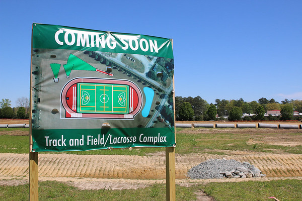 Track and Field-Lacrosse Complex Progress
