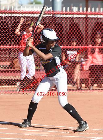 3-25-2016 - Kingman @ Glendale Softball Game