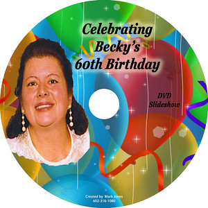Becky Jones' 60th Birthday Pics