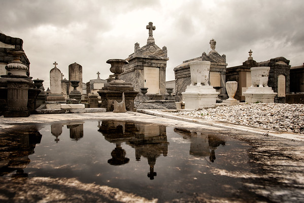 Greenwood Cemetery - Rainy Day 2013