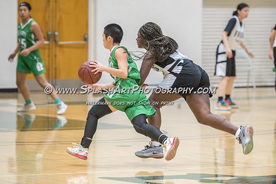 2020 Girls Basketball Eagle Rock vs Ribet 18Jan2020