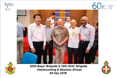 BB-GB Homecoming and Reunion on 29 Sep 2018