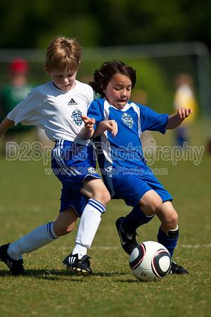 U8 Boys Arsenal vs Stingrays 5/15/2010