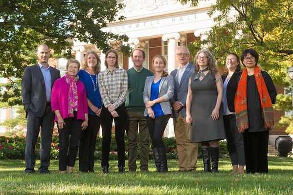 10/20/17 Art Conservation Faculty Environmental Portraits