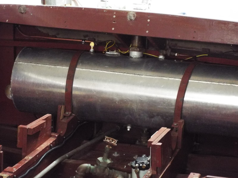 Another view of the fuel vent on the starboard side of the tank exiting through the starboard fin.
