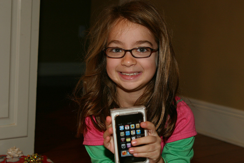 Kate gets her iPod.