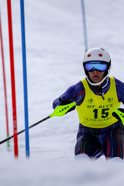 Boys Slalom Second Run