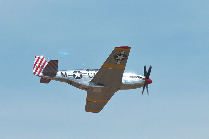 """""""Betty Jane"""" makes a 2nd high-speed pass at the Lincoln Airport!"""