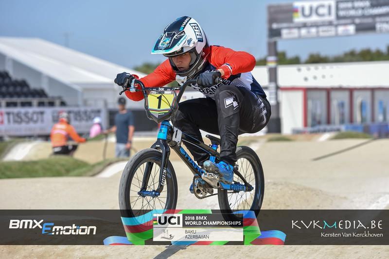 UCI BMX WC BAKU - Challenge practise group C & D