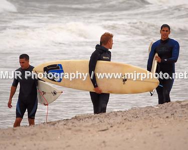 Surfing, Gilgo Beach, NY, (9-1-06)