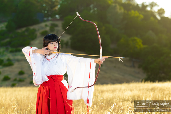 Kikyo (Inuyasha) by Faye Lynn Cosplay