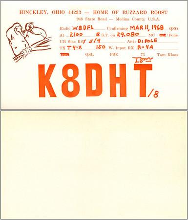 W8DFL QSL Cards - 8/22/2011
