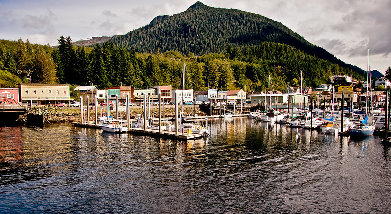 Thomas Basin Boat Harbour, Ketchikan
