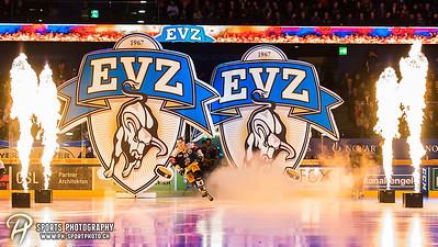 National League Playoffs 1/4-Final (3): EV Zug - ZSC Lions