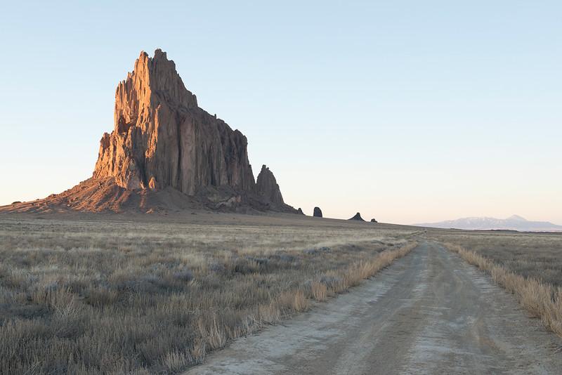 Shiprock & Road, NM