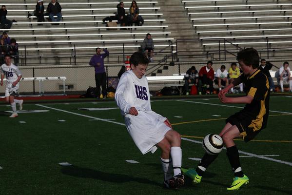 2012-03-23 IHS Boys JV Soccer vs Inglemoor